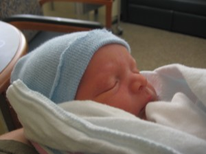 Owen at Birth 7 lbs. 6 oz, 19.5 inches long