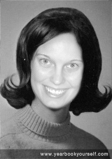 Becky yearbook photo 1968