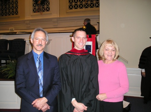 Dave and his parents