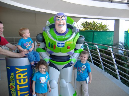Buzz Lightyear was a favorite in our family.