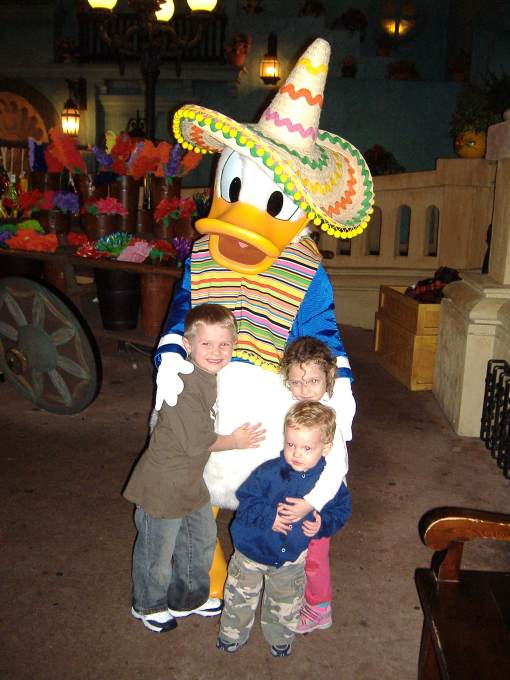 This was Owen's favorite...Donald Duck