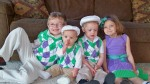 My sweet litte ones on Easter Sunday
